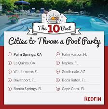 10 best cities to throw a backyard pool party