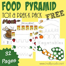 food pyramid writing activities puzzles u0026 tot pack