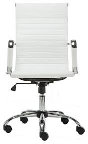 high back swivel adjustable office executive chair swivel white