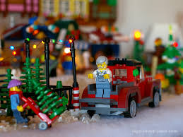 lego christmas tree lot moc melissa u0027s lego