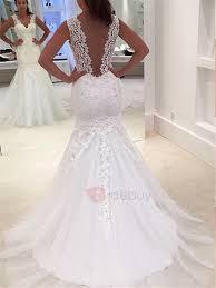 trumpet wedding dresses lace mermaid trumpet wedding dresses cheap tidebuy