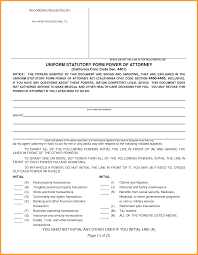 Michigan Durable Power Of Attorney Form by 13 California Power Of Attorney Form Week Notice Letter