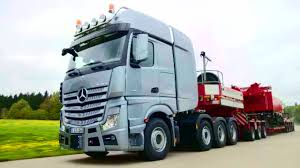 mercedes truck 2016 mercedes benz actros slt heavy haulage vehicle driving scenes