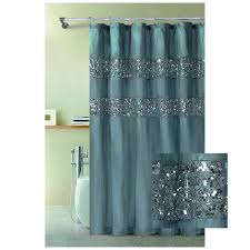 appealing teal colored shower curtains and mint colored shower