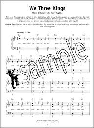 really easy piano christmas carols sheet music book learn to play