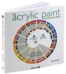 the acrylic paint color wheel book by john barber paperback