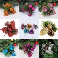 christmas xmas tree decoration pine cones needles christmas tree