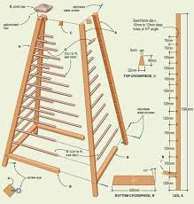 Wooden Trellis Plans Garden Obelisk How To Make Modern Country Lady How To Build
