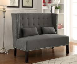 fancy tufted high back bench 51 for your patio furniture ideas