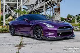 nissan gtr matte black gold rims tuningcars purple nissan gt r lowered on velgen wheels