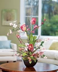 Silk Flower Arrangements | shop cherry blossom dogwood tulip silk flower arrangements at petals