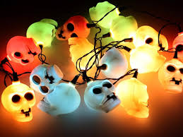 halloween ghost lights outdoor indoor led light string lamp halloween props haunted house