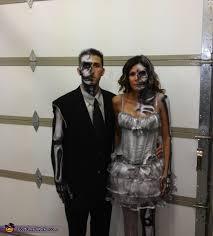 Halloween Costumes Bride Groom Dead Bride Groom Costume Photo 2 5