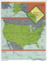 A Map Of The Usa by Large Detailed Political And Administrative Map Of The Usa 1999