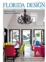 Home Design Magazine Florida Ebanista