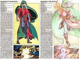 scarlet witch original costume the official handbook to the marvel universe redux edition 2015