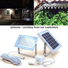 solar powered led flood lights guardian 580x solar security floodlight with standalone pir motion
