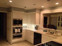 Kitchen Cabinets Lights Appealing Puck Lights Under Kitchen Cabinets With Grey Color