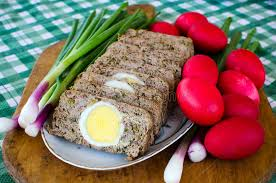 easter dishes traditional easter food drob stock photo image of tasty
