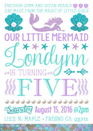 kids halloween party invitation wording mermaid birthday party invitations with printable decorations