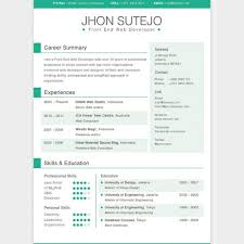 Cool Resume Templates Free Download Cool Free Resume Templates Clean Resume Psd Best Free Resume