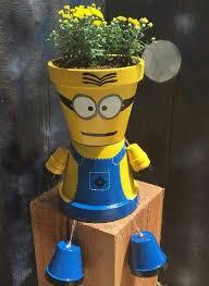 Garden Craft Terra Cotta Marker - 30 best minion terra cotta pots images on pinterest minion