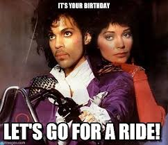 Prince Birthday Meme - it s your birthday prince meme on memegen
