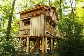 Small House Plans With Cost To Build Treehouse Small Space Design And Unique Woodworking With Tree