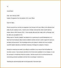 weeks notice letter formal two weeks notice letter two weeks