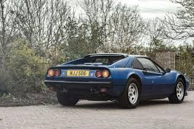chrome ferrari nigel u0027s flyer the v12 swapped ferrari 308 is up for auction the