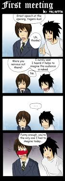 Death Note Kink Meme - death note first meeting by mayanna on deviantart death note