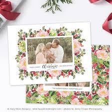 christmas photography template christmas photo card printable
