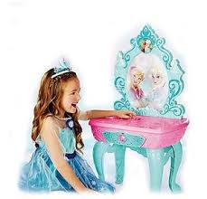 frozen vanity table toys r us disney frozen crystal kingdom vanity mirror italian packaging
