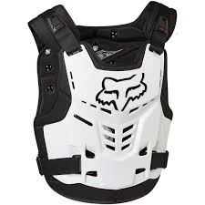 motorcycle racing gear 2016 fox racing youth white pro frame motorcycle chest protector
