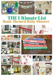 theme baby shower the ultimate list of book themed baby shower ideas