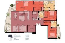 Luxury Condo Floor Plans Sansara Condos In Sarasota Luxury Bay View Condos