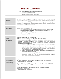 objective on resume exle objective resume free resume templates