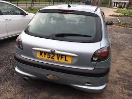 lexus hatchback black peugeot 206 lexus style black rear lights sonar in winsford