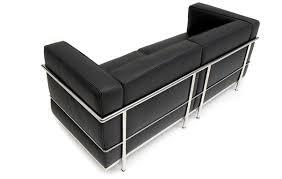 Le Grand Confort  Seater Sofa By Le Corbusier LC  Designer Sofas - Corbusier sofas