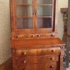 best antique 1850 u0027s empire secretary desk and bookcase for sale in