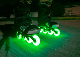 light up inline skates inline skate glowing wheel edit review youtube