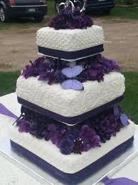 wedding cakes purple butterfly wedding cake decorations