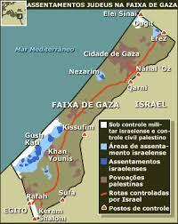 Assentamentos judeus na Faixa de Gaza