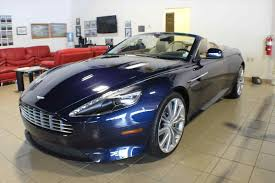 used aston martin db9 aston martin db9 convertible blue http car1208 com