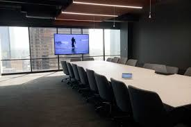 Interactive Meeting Table Conference Room Av Design Project For Active Network Dallas