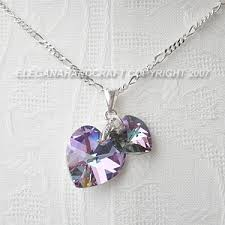 swarovski jewelry necklace images Soulmates necklace many colors wedding jewelry necklace and jpg