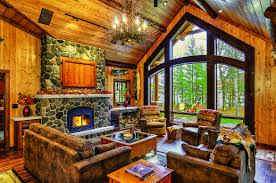 Log Home Interior Decorating Ideas by A Cabin Up North