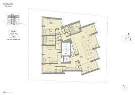 The Panorama Floor Plan by Yotei Panorama Penthouse Nisade