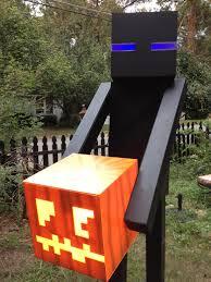 Enderman Halloween Costume Ready Halloween Minecraft Style Gearcraft