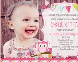 owl first birthday invitations vertabox com